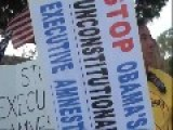 Oh No, Not You Again! : Mexican Dude Enjoys Tormenting Senior Citizen Anti-amnesty Demonstrators In Santa Ana Orange County , CA