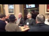 Old Guys Sing Elton John At Tim Horton's