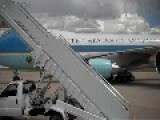Obama Arriving In Aurora