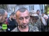 Over 100 Pro-Kiev Soldiers Captured In Ilovaysk
