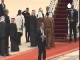 Obama Arrives In Saudi Arabia Amid US 'terror Bill' Debate