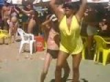 Old Guy Stats Twerking In A Speedo With Hot Chicks