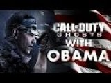 Obama Plays Call Of Duty