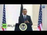 Obama Promotes LGBT Rights In Africa