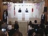 Obama Promises Cooperation On Okinawa Investigation