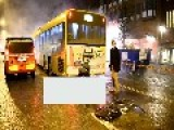 Out Of Control Bus In Sweden More Footage