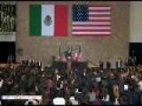 Obama The Apologizer In Mexico: Obama Pushes Gun Control & Blames America For Mexican Gun Violence