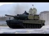 Otokar Altay MBT Tank In Live Firing & Cold Climate Testing