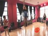 Pole Dancer Has Moves