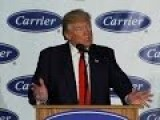 President Trump To PUNISH And DESTROY Firms Outsourcing Jobs-- CARRIER Stays-- AND Trust Me, We Are Going To Build The Wall
