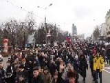 Pro Russian Reunitification Demonstration In Donetsk