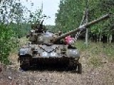 Pink Elephant Poses With Captured Ukraine Junta Tank In The Cauldron Novorussia