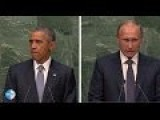 Putin Vs. Obama At UNGA. Two Leaders Clash On Global Issues