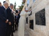 Pope Francis On Second Day In Israel: Visits Holocaust Museum Prays At Memorial Wall For Victims Of Terrorism