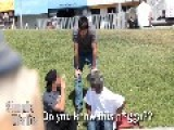 Prankster Gets Knocked Out HD & Closeup