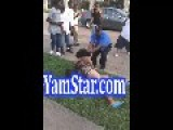 POPEYES MANAGER Beats Up WOMAN For Talking SH*T About The FRIED CHICKEN = In Da Ghetto =