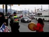 Protester's False Assault By Vancouver Police