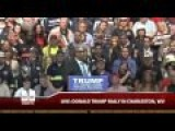 Pastor Mark Burns Fires Up The Crowd At Donald Trump Rally In Charleston, WV
