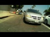 Pacific Beach CA Driver Has No Patience For Bicycle, Light Hit And Run
