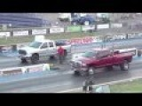 Pickup VS Muscle Car