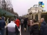 Protesters Take Control Of Ukrainian Presidential Luxury Residence