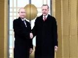Putin Praises Erdogan As Tough Man For Defying EU Over Pipeline Decision
