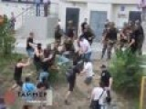 Planet Of Apes, Ukraine Mass Fight Near Russian Embassy In Odessa