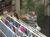 Pervert Stealing Panties And Bra Caught On Camera