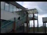 Parkour Roof Stair Fall