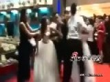 Pregnant Mistress Attacks Bride At Lover's Wedding