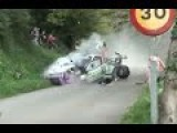 Porsche 997 GT3 Rally Crash