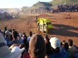 People Get Run Over By Broken Monster Truck