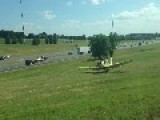 Plane Makes Emergency Landing On Arlington, TX Freeway