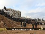 Pictures ISIS Cavemen's Men And Boys Gather For The Stoning Of An Adulterer In Aleppo