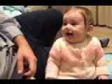 Penny For Your Thoughts: Cute Baby Laughs At Hearing Dad Say 4p