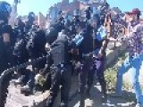 Police Clash With Far-Right Assailants At Kiev Gay Pride March