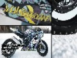 Polaris RZR Vs Suzuki GSX-R On ICE!