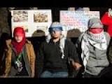 Protesters March, Replicate Atrocity For Aleppo