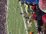 Patriots Warm Up During Game Vs Browns