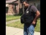 POLICE OFFICER PUNCHES THUG For RESISTING ARREST = In Da Hood™®