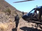 Police Located Two Marijuana Plantations In Mexico