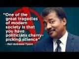 Politicians Cherry-picking Science: Neil DeGrasse Tyson