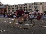 Penny-Farthing Race Surprises Onlookers In London