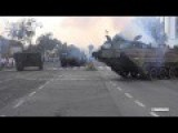 PTS M 10 Russian Soviet Amphibious Vehicle Close Up U Turn