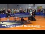 Ping Pong Can Be A Violent Sport