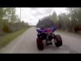 Police Officer Rammed By Quad Bike