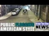 PUBLIC FLOGGING AMERICAN STYLE