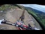 POV Footage Of This Maniac Going Down The World's Most Difficult Mountain Biking Course Is NUTS