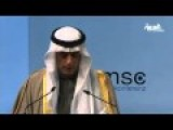 Powerful Speech By Saudi Foreign Minister
