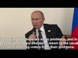 Putin On Biden Cyberthreat: One Can Expect Just About Anything From Our American Friends